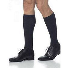 820 Midtown Microfiber Series - Mens Calf-High Stockings - 20-30mmhg