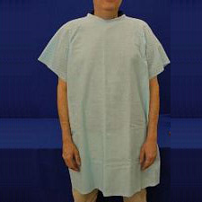 SnapWrap™ Deluxe Patient Gown - Adult Blue