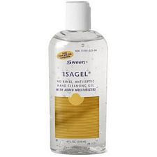 Coloplast® Isagel® No-Rinse, Instant Hand Sanitizing Gel (60% Ethyl Alcohol) - 4 fl. Oz.