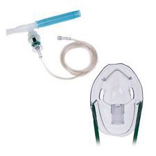Micro Mist Nebulizer Kit with 7 ft. Tubing, Standard Connector and Pediatric Mask