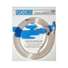 Urocare® Clear Vinyl Drainage Tubing w/ Adaptor - 60 in. Length