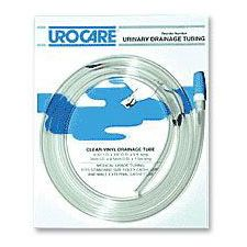 Urocare® Clear Vinyl Drainage Tubing w/ Adaptor - 8 1/2 in. Length