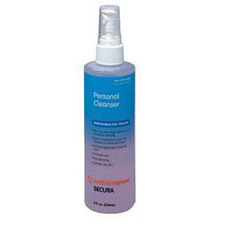 Secura Cleanser, 8. Oz.