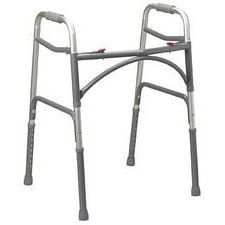 Adult Extra-Wide Bariatric Walker - 2 Button