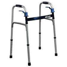 Drive Medical Deluxe Folding Walker w/ Trigger Release