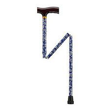 Adjustable Folding Cane w/T Handle