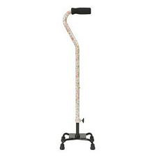 Small Base Quad Cane w/ Foam Grip