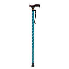 Adjustable Lightweight T Handle Cane w/ Strap