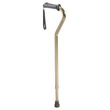 Bronze Cane with Ortho Grip