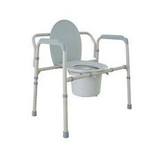 Bariatric Folding Bedside Commode Seat
