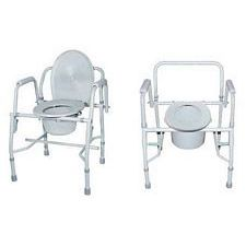 Commode Chair with Drop Arm