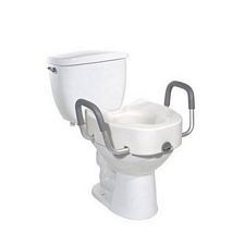Raised Toilet Seat w/ Arms