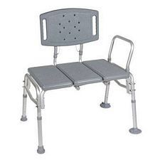 Bariatric Plastic Seat Transfer Bench