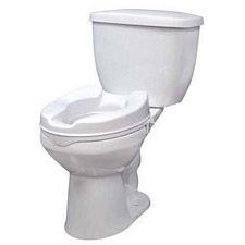 Drive Medical Raised Toilet Seat (2 in.)