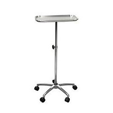 Mayo Instrument Stand w/Mobile 5 in. Caster Base