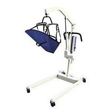 Bariatric Lift w/ Removable Battry, 4 Pt. Cradle