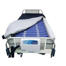 Med Aire 8 in. Mattress Replacement System w/Alarm