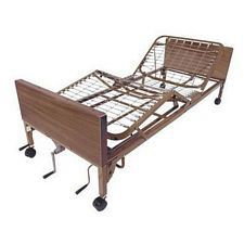 Multi-Height Manual Bed w/ Full Rails