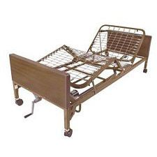 Semi Electric Bed with Half Rails