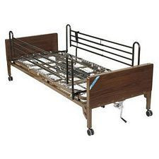 Delta Semi Electric Bed w/ Rails