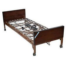 Delta Electric Bed w/ Half Rail