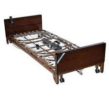 Delta Electric Low Bed w/Rails & Therapy Mattress