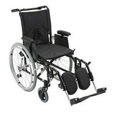 Rehab Wheelchair w/ Adjust. Desk Arms and Lift Leg Rest (18 in. Seat)