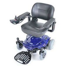 Blue Cobalt X23 Power Wheelchair
