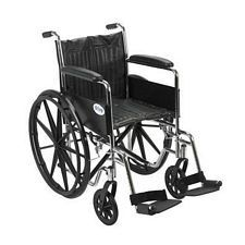 Wheelchair w/ Full Arms & Swing Foot Rest