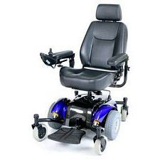 Intrepid Mid-Wheel Power Wheelchair w/ 20 in. Captain Seat