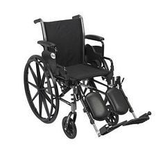 Cruiser 3 Wheelchair w/Desk Arms & Elevated Leg Rest