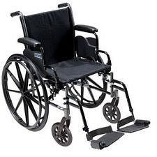 Cruiser 3 Wheelchair w/Desk Arm & Swingaway Foot Rest
