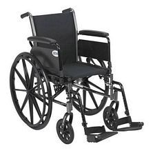 Cruiser 3 Wheelchair w/Full Arm & Swingaway Foot Rest