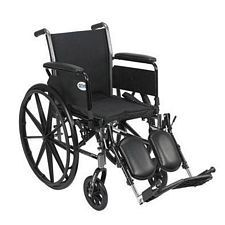 Cruiser 3 Wheelchair w/Full Arm & Elevate Leg Rest