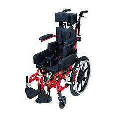 Kanga TS Pediatric Tilt In Space Wheelchair (Red)
