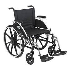 Viper 20 in. Wheelchair w/Flip Back, Desk Arm & Swing Foot