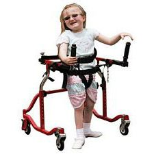 Pediatric Luminator Red Posterior Gait Trainer