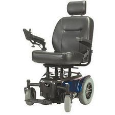 Blue Medalist Heavy Duty Power Wheelchair (24 in.)