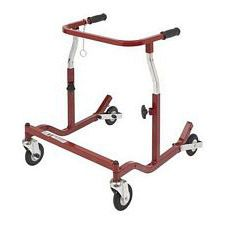 Pediatric Burgundy Anterior Safety Roller