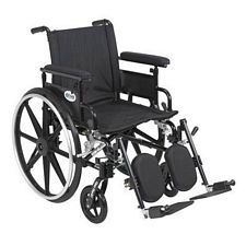 Viper+GT 18 in. Wheelchair w/Flip Back, Full Arm & Elev. Leg