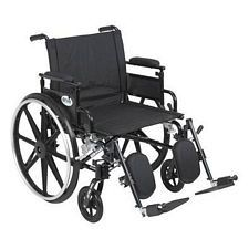 Viper+GT 22 in. Wheelchair w/Flip Back, Desk Arm & Elev. Leg