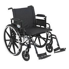 Viper+GT 22 in. Wheelchair w/Flip Back, Desk Arm & Swing Foot