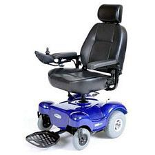 Renegade Power Wheelchair w/ 22 in. Captain Seat, Blue