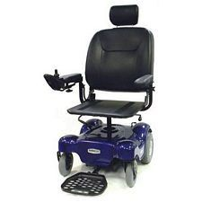Renegade Power Wheelchair w/ 20 in. Pan Seat, Blue