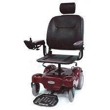 Renegade Power Wheelchair w/ 18 in. Pan Seat, Red
