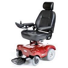 Renegade Power Wheelchair w/ 22 in. Captain Seat, Red