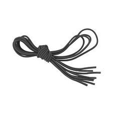 Black Elastic Shoe and Sneaker Laces, Black