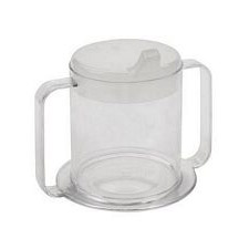 Lifestyle Handle Cup, Clear