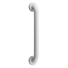 White Powder Coated No Drill Grab Bar, White