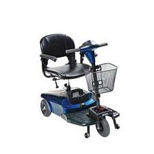 Bobcat 3-Wheel Blue Compact Scooter